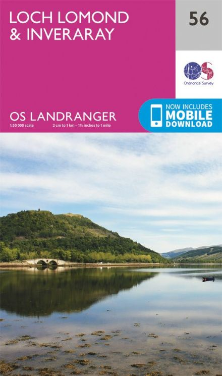 OS Landranger 56 Loch Lomond and Inveraray